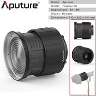 Aputure Fresnel 2X Lens Mount for LS C120D II , LS C300D (Intensify , Dual Lens, Bowens Mount)