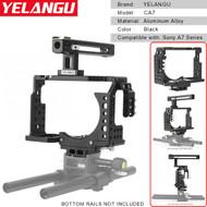 YELANGU CA7 Aluminum Camera Cage for Sony A7, A7s , A7r3 , A9