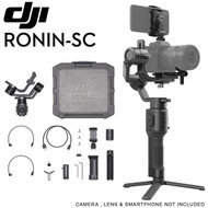DJI Ronin-SC 3-Axis Motorized Gimbal Stabilizer for Mirrorless Cameras (Ronin App, Max. Load 2 kg)