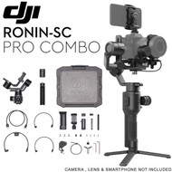 DJI Ronin-SC Pro Combo 3-Axis Motorized Gimbal Stabilizer for Mirrorless Cameras (Ronin App, Focus Motor , Max. Load 2 kg)