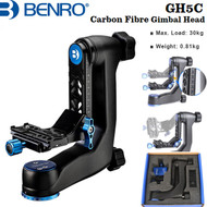 Benro GH5C Carbon Fiber Gimbal Head with PL100LW Plate (Max Load 30kg)