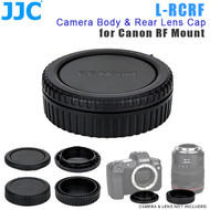 JJC L-RCRF Camera Body & Rear Lens Cap for Canon RF Mount