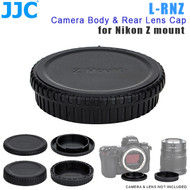 JJC L-RNZ Camera Body & Rear Lens Cap for Nikon Z mount ( Z6 , Z7 / Replaces Nikon BF-N1 & LF-N1)