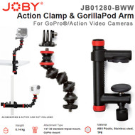 Joby JB01280 Action Clamp & GorillaPod Arm for GoPro & Action Video Cameras
