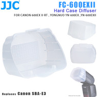 JJC FC-600EXII Hard Case Diffuser for Canon 600EX II-RT, YONGNUO YN-600EX, YN-600EXII (Replaces Canon SBA-E3)