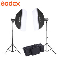 Godox  2 x MS300 300Ws Compact Studio Lighting Kit (5600K)