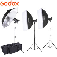 Godox  1 x MS200 + 2 x MS300 Compact Studio Lighting Kit (200Ws & 300Ws , 5600K)