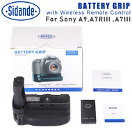 Sidande Battery Grip with Wireless Remote Control for Sony A9 , A7RIII, A7III