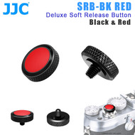 JJC SRB-BK RED Deluxe Soft Release Button (Black & Red)