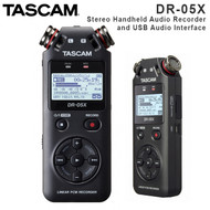 Tascam DR-05X Stereo Handheld Digital Audio Recorder and USB Audio Interface (Portable , 2 Tracks , 2 channel)