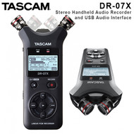 ascam DR-07X Stereo Handheld Digital Audio Recorder and USB Audio Interface (Adjustable , 2 Tracks , 2 channel)