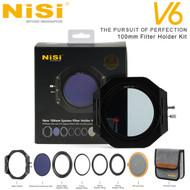 Nisi V6 100mm Filter Holder Kit with Enhanced Landscape CPL , Lens Cap & Soft Pouch