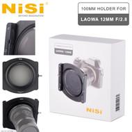 Nisi 100mm Aluminum Square Filter Holder Kit for Laowa 12mm f/2.8 Lens (Zero-D Lens , Venus Optics)