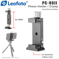 Leofoto PC-90II Phone Holder / Clamp (Arca Swiss Shoe , Smartphone, Clip )