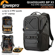 "Lowepro LP37090 QuadGuard BP X3 Backpack for FPV Quadcopters (15"" Laptop , up to 4 FPV quads)"