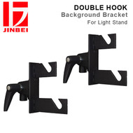 Jinbei Double Hook Studio Background Support Bracket for Light Stand