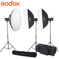 Godox 3x QT600II 600Ws  Strobe High Speed Sync Studio Flash Lighting Kit