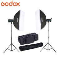 Godox 2x QS400II 400Ws Studio Flash Lighting Kit
