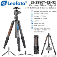 Leofoto LX-255CT+XB-32 Urban Series Carbon Fibre Tripod with Ball Head (Max Load 10kg , 5 Section , Twist Lock , Compact )