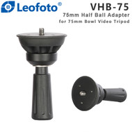 Leofoto VHB-75 Half Ball Adapter (75mm , Bowl Adapter Column )