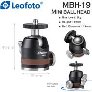 Leofoto MBH-19 Mini Ball Head (Max Load 4kg )