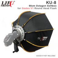 Lifefoto KU-8 90cm Octagon Softbox with GRID & V1 Holder for Godox V1