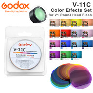 Godox V-11C Color Effects Set for V1 , H200R Round Head Flash (15pcs Color Filters)
