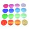 Godox V-11T Color Temperature Adjustment Set for V1 , H200R Round Head Flash (16pcs Color Filters)