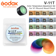 Godox V-11T Color Temperature Adjustment Set for V1 , H200R Round Head Flash (16pcs Color Filters)