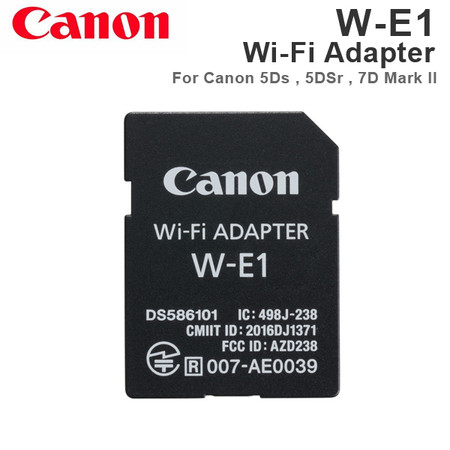 Canon W-E1 Wi-Fi Adapter for Canon EOS 5Ds , 5DSr , 7D Mark II