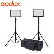 Godox LEDP260C Soft Pad Video LED Light Kit (3300-5600K , Ultra Slim)