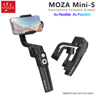 Moza Mini-S Essential Smartphone Handheld Gimbal Stabilizer (Black , Payload 260g , Extend width 58 - 88mm )