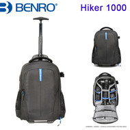 "Benro Hiker 1000 Roller Backpack (Black , 340 x 290 x 51 mm , Up to 13"" Laptop )"