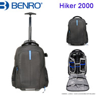 "Benro Hiker 2000 Roller Backpack (Black , 370 x 290 x 540 mm , Up to 14"" Laptop )"