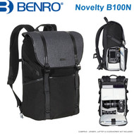 "Benro Novelty B100N Backpack (Black , 315 x 170 x 430mm , Up to 13"" Laptop)"
