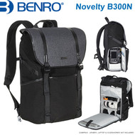 "Benro Novelty B300N Backpack (Black , 365 x 205 x 470 mm , Up to 14"" Laptop)"