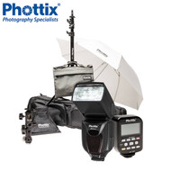 Phottix Kelby Mitros+ Odin Portable Lighting Kit for Canon *CLEARANCE SALE*