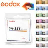 Godox SA-11T Color Temperature Adjustment Set for S30 Focusing LED Light (16pcs Color Filters)