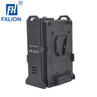 Fxlion FX-M2S MINI 2-CH  V-mount V-Lock Dual Charger (2 channel , 16.8V , 2A Output )