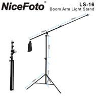 Nicefoto Boom Stand LS-16  2-in-1 ( 4m , Max Load 5kg)
