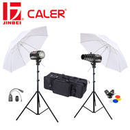 Caler EII-250 Digital Studio Light Kit (2 Lights , 500Ws)