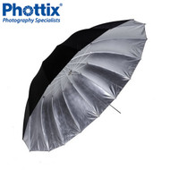 "Phottix 101cm (40"")  Para-Pro Reflective Umbrella (Black & Silver) #853435  *CLEARANCE SALE*"