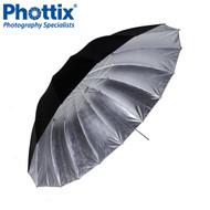 "Phottix 101cm (40"")  Para-Pro Reflective Umbrella (Black & Silver) #853435  *CLEARANCE SALE*"