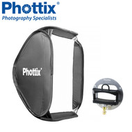 Phottix 60 x 60 cm Transfolder Softbox with Cerberus Mount #825234 *CLEARANCE SALE*