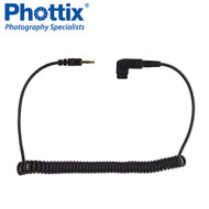 Phottix  S6 Connecting Coiled Extra Cable 2.5mm for Sony (not for A7 series )/ Minolta #17360 *CLEARANCE SALE*