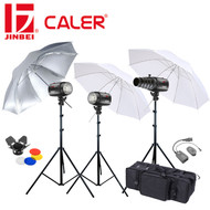 Caler EII-250 Digital Studio Light Kit (3 Lights , 750Ws)