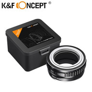 K&F Concept KF06.067 Lens Adapter for M42 Lenses to Sony E Mount Camera