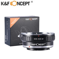 K&F Concept KF06.124 Lens Adapter for Canon EF Lenses to Canon EOS M Camera (EOS-EOS M)