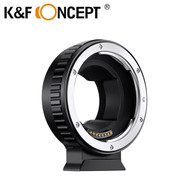 K&F Concept KF06.433 Auto Focus Lens Adapter for Canon EOS EF Lenses to Sony E Mount Camera (EOS-E)