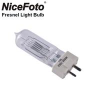 Nicefoto GY9.5-300W Fresnel Light Bulb 230V 300W (G9.5, Bipin)